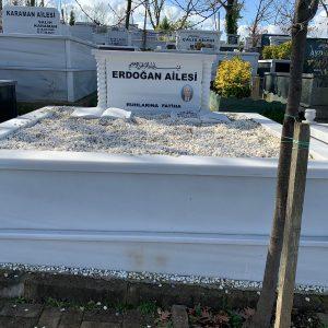 Marmara Mermeri Mezar Taşı